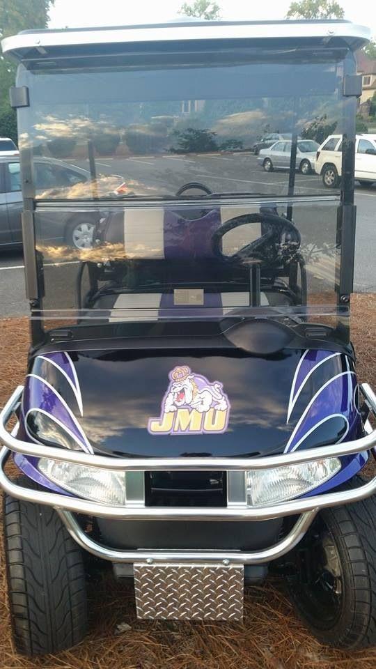 JMU golf cart