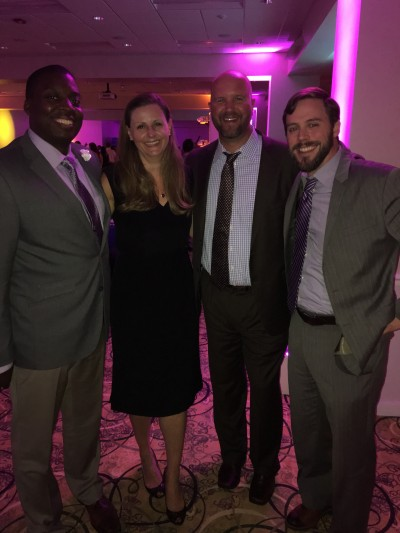 Class of '99 still getting things done (well technically Dirron is '00 but extra time at JMU is really something to be respected)