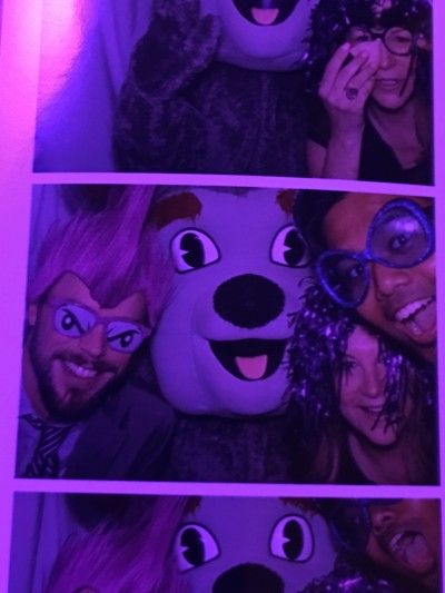 Because you have to trap Duke Dog in the photo booth when given the chance, right?